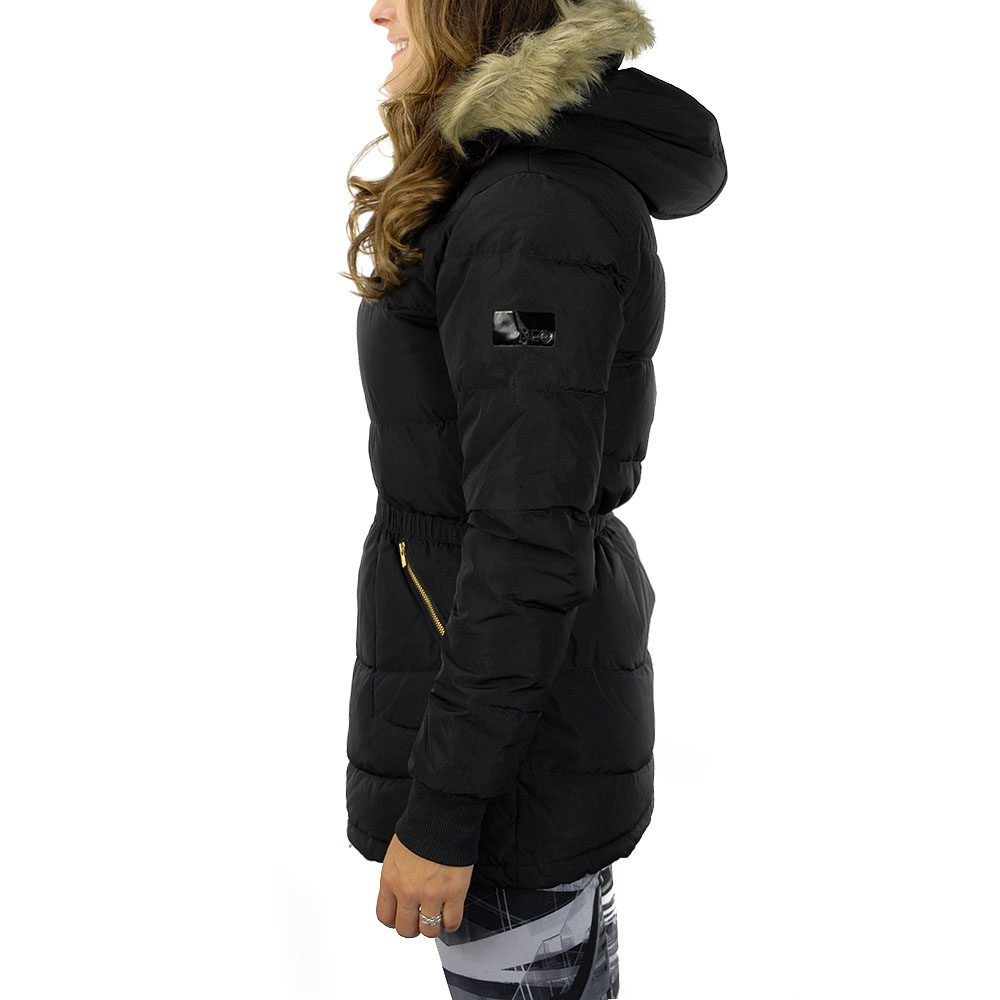 51ed32f6040c Adidas NEO Women s Long Down Jacket Black M32614