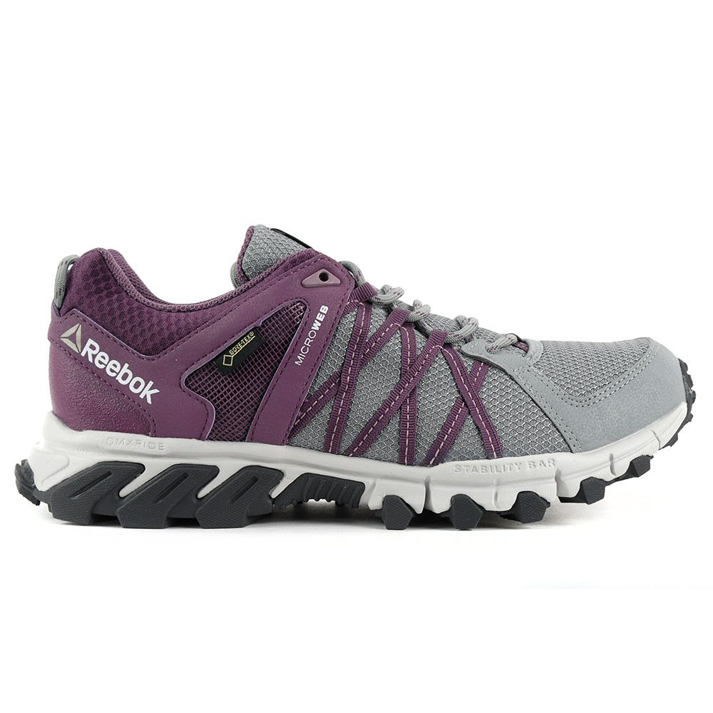 Details about Reebok Women's Trailgrip RS 5.0 GTX GreyWashed Plum Gore Tex Shoes BS5430 NEW!
