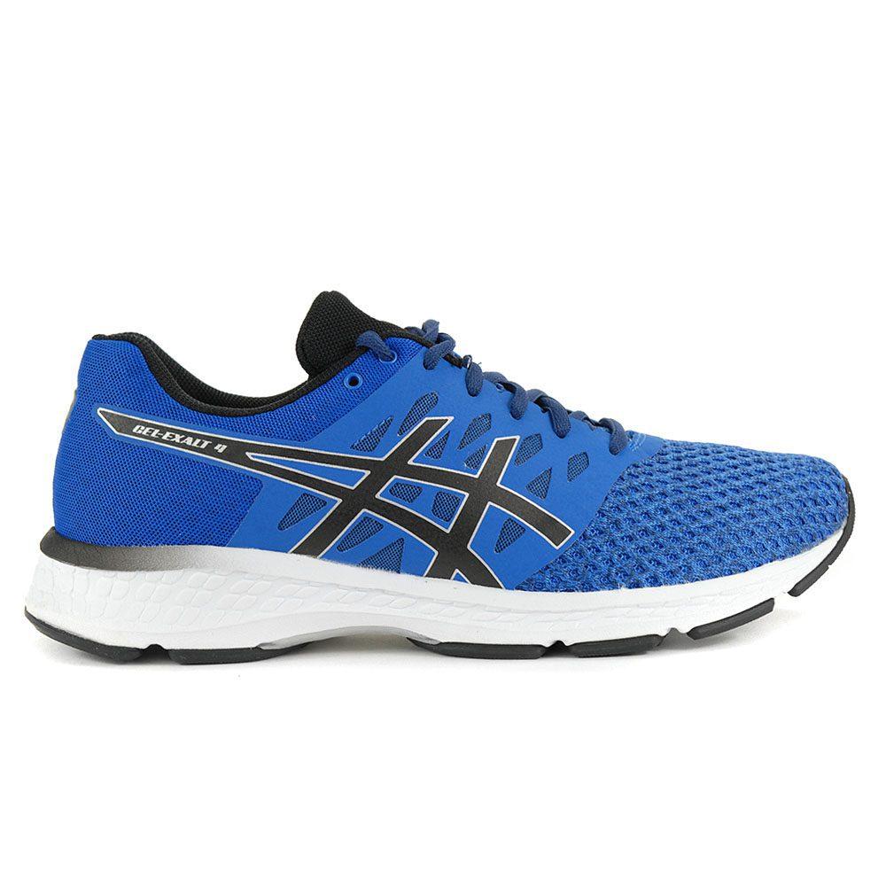 ASICS Men/'s GEL-Exalt 4 Blue//Black Running Shoes T7E0N.4390 NEW!