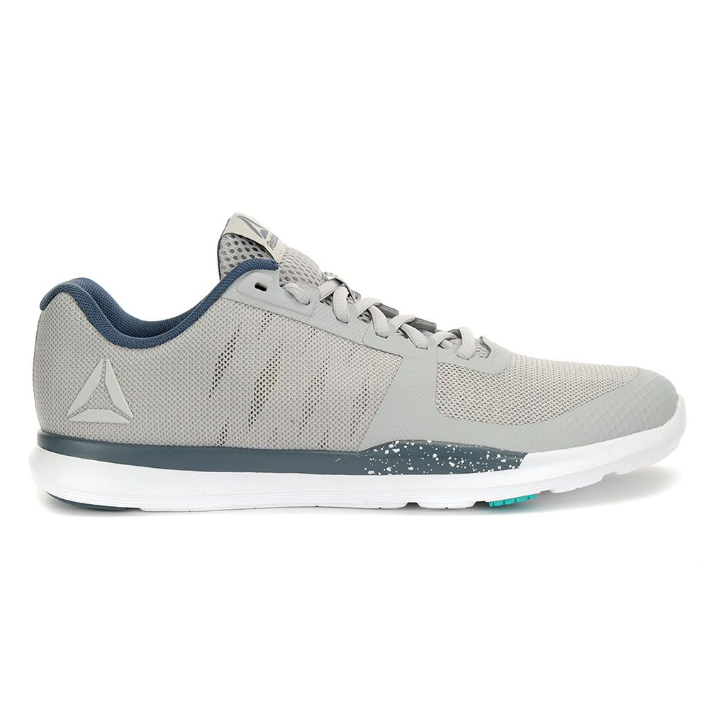 38e650ac657 Reebok CrossFit Men s Sprint TR 2.0 Skull Grey Alloy Training Shoes CN1228  NEW!