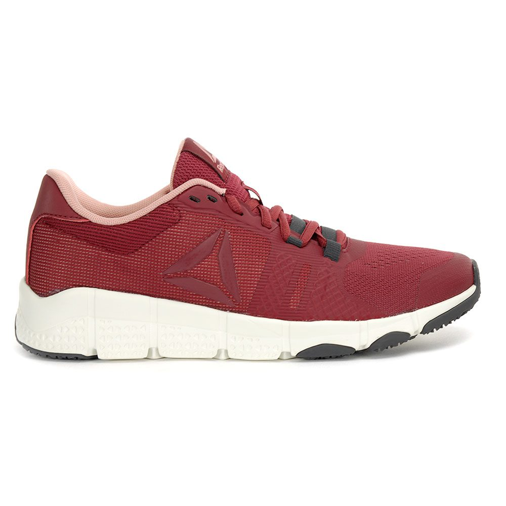 b9c107cae Reebok Women s TrainFlex 2.0 Urban Maroon Chalk Training Shoes CN0947 NEW!