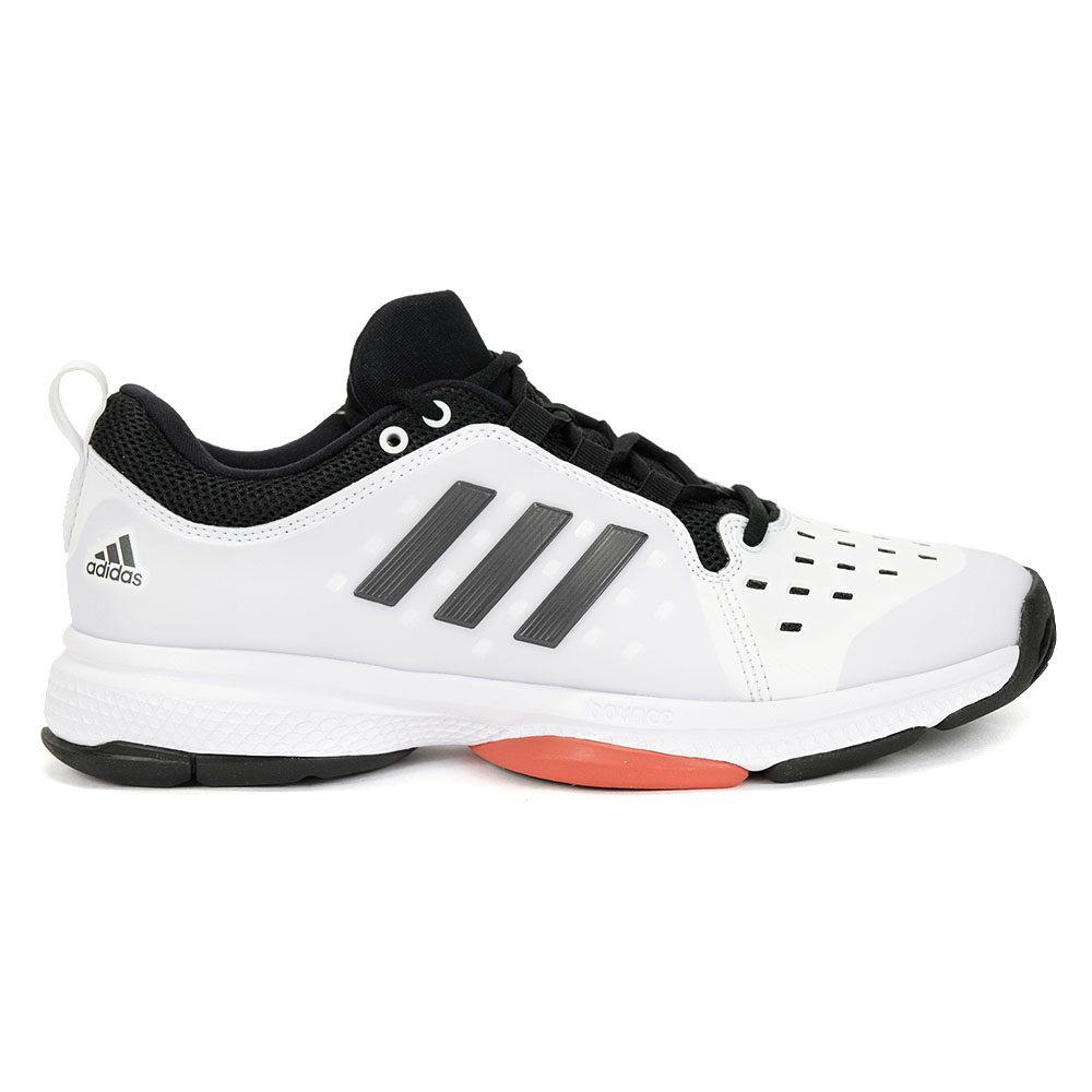 Adidas mens barricade classic bounce white black tennis shoes new jpg  1000x1000 Black tennis shoes a1eb7c350