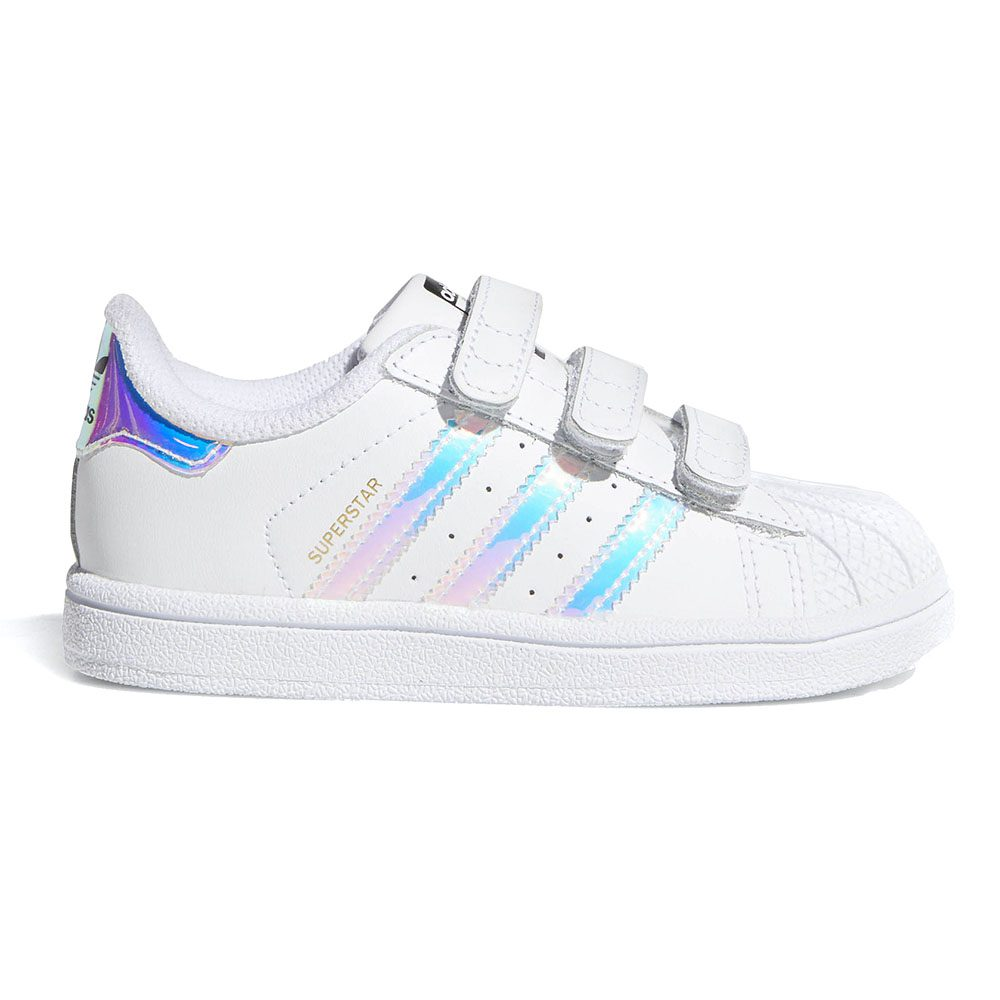 ... Adidas Originals Infants Superstar White White Metallic Silver Kids  Shoes AQ6280. Out of stock a722487a6