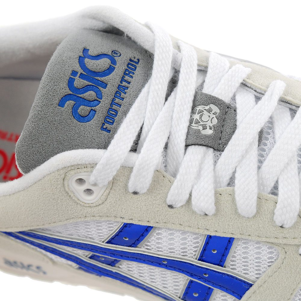 big sale 74cea d7da9 ASICS X FootPatrol Gel-Saga 1 Titanium Grey/Iridium Blue Shoes 1191A059.022