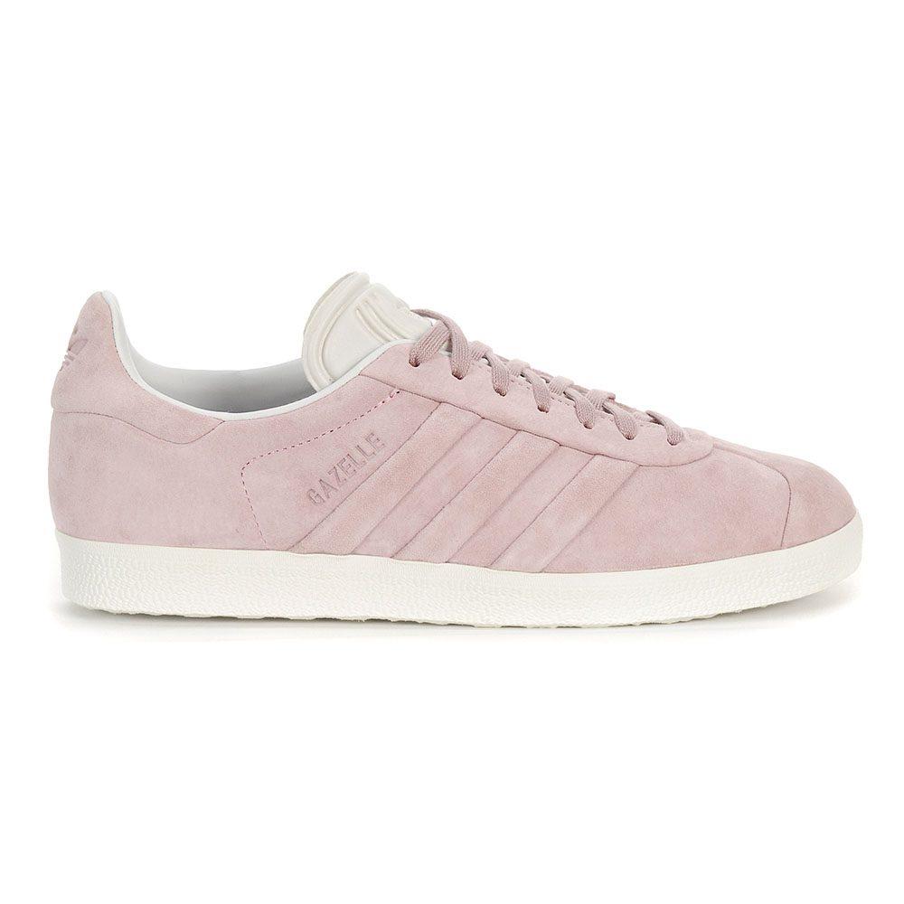 ddca3e092 Adidas Women s Gazelle Stitch   Turn Wonder Pink Cloud White Shoes BB6708  NEW!