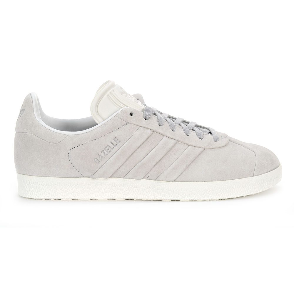 big sale 22591 17b30 Adidas Womens Gazelle Stitch  Turn Shoes Wonder GreyCloud White BB6709  NEW!