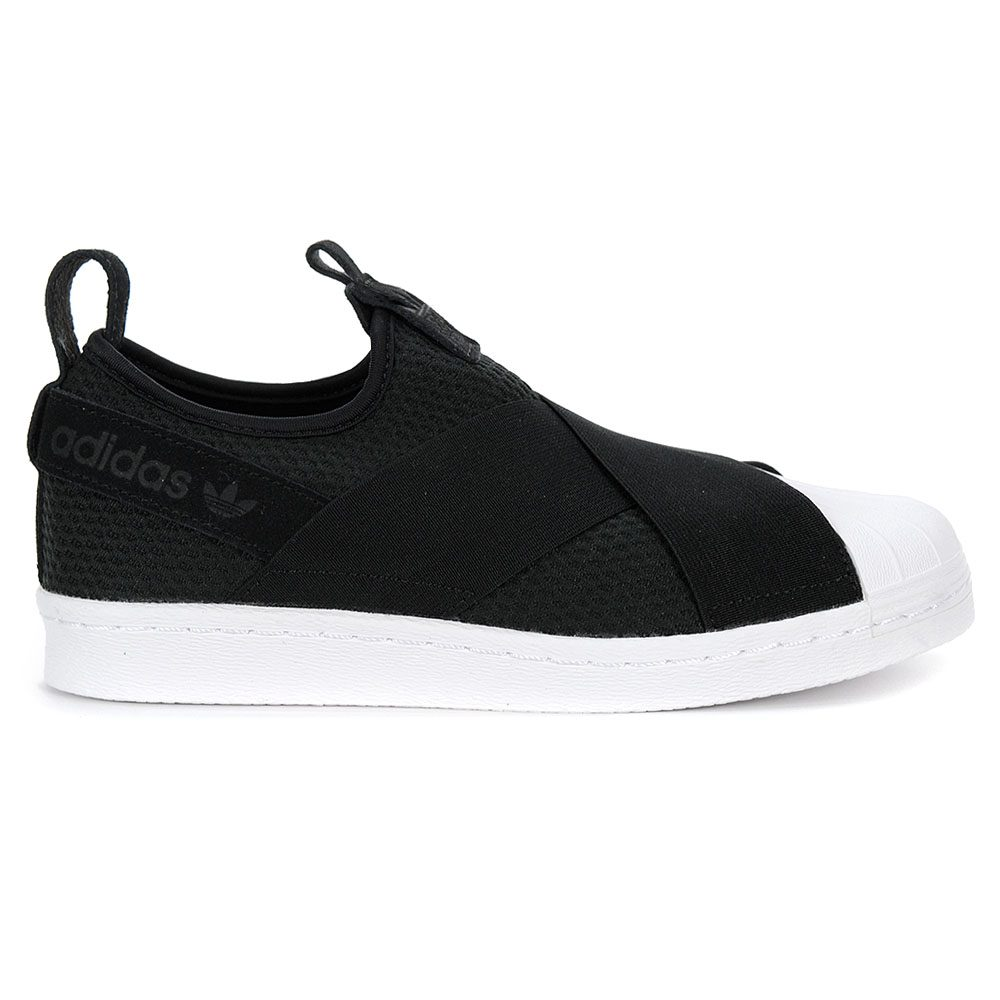 Adidas Women s Superstar Slip-On W Core Black Footwear White Shoes B37193  NEW! 23df962d59