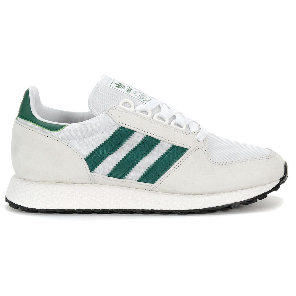 Adidas Men's Forest Grove Crystal White/Collegiale Green