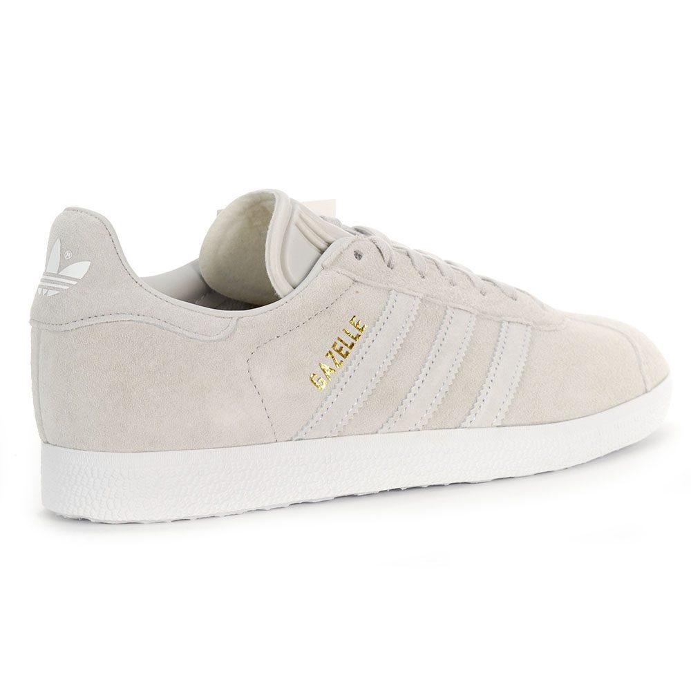 b70b3b33d19ec0 Adidas Women s Originals Gazelle Grey Cloud White Shoes CQ2188