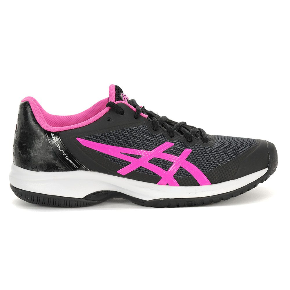 6f019b82 Details about Asics Women's GEL Court Speed Black/Hot Pink/White Tennis  Shoes E850N.9020 NEW