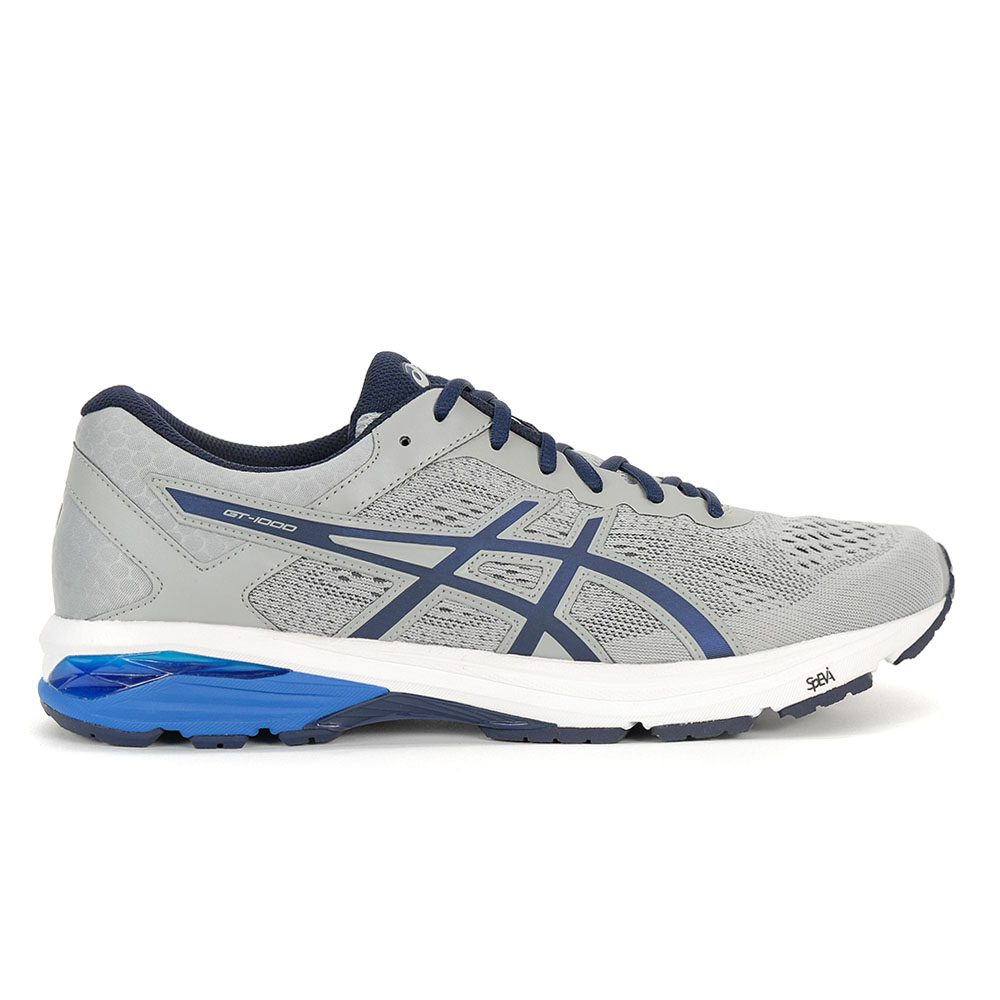 caff290f2a08 ASICS Men s Gt-1000 6 Midgrey Peacoat Dir Blue Running Shoes T7A4N.9658 NEW!
