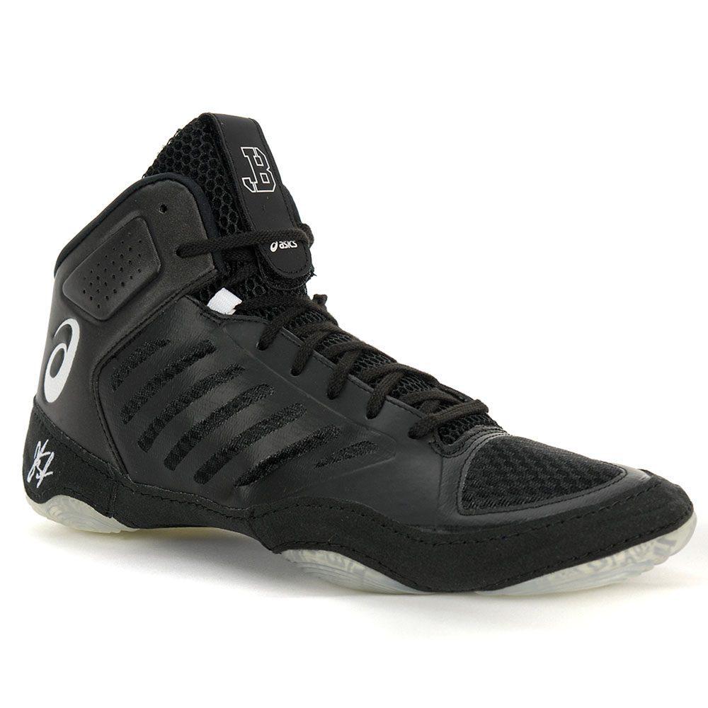 6123474467d5 Asics Men s JB Elite 111 Black White Wrestling Shoes J702N.9001