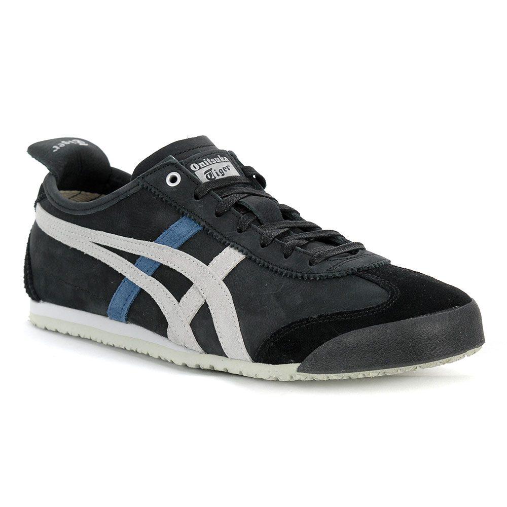 timeless design 01e5f 50169 ASICS Onitsuka Tiger Mexico 66 Black/Glacier Grey Shoes D832L.9096