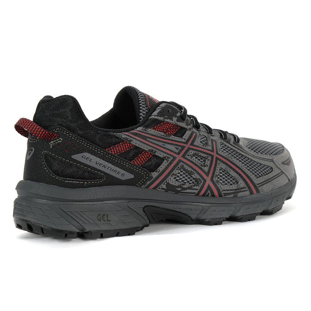 3cdd64610a0e Asics Men s Gel-Venture 6 Carbon Cayenne Running Shoes T7G1N.700