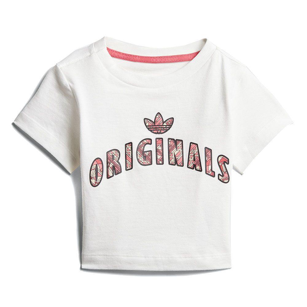 f119df06 Adidas Originals Infant Graphic Jumpsuit White/Multicolor Girl CE4384