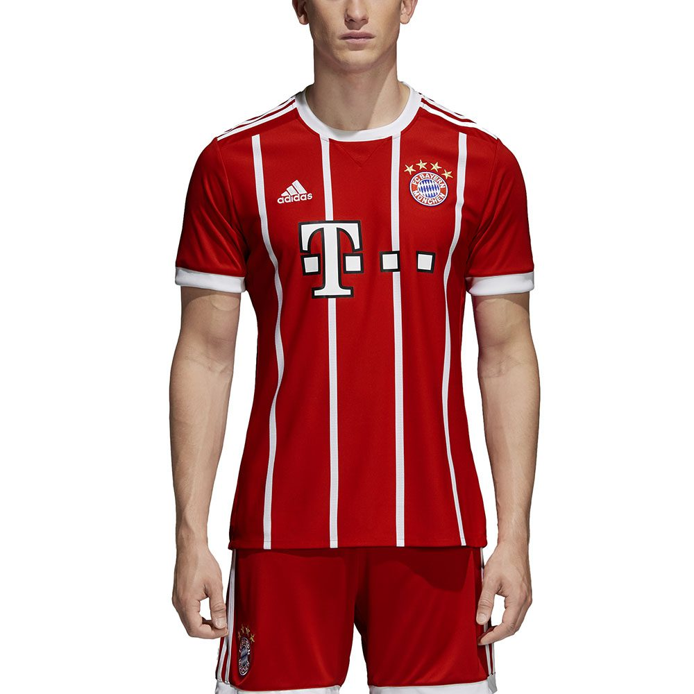 100% authentic 1ae13 41e5c Adidas Men's FC Bayern Munich Home Jersey FCB True Red/White Soccer AZ7961