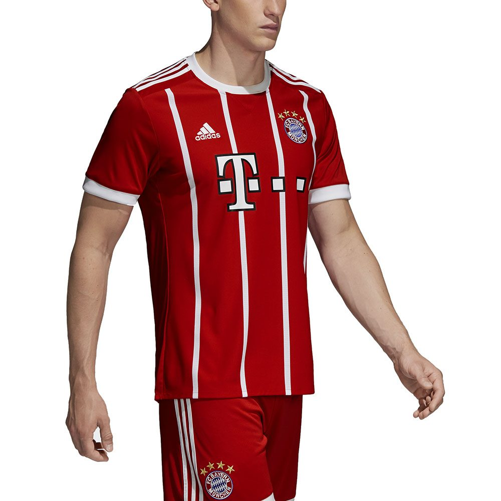 100% authentic f1131 ea409 Adidas Men's FC Bayern Munich Home Jersey FCB True Red/White Soccer AZ7961