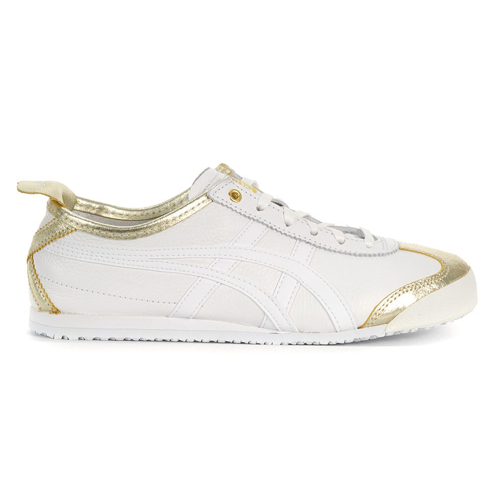 huge discount 47d74 90c7a ASICS Onitsuka Tiger Mexico 66 Lich Gold/White Shoes 1183A033.200