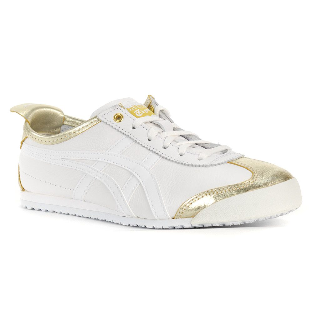 huge discount e8f0b d7a0f ASICS Onitsuka Tiger Mexico 66 Lich Gold/White Shoes 1183A033.200