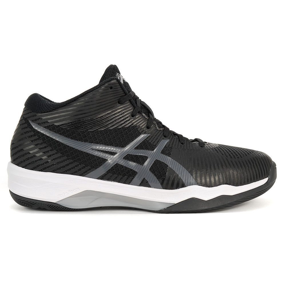 ASICS Men's Volley Elite FF MT Black/Dark Grey Volleyball Shoes B700N.9095