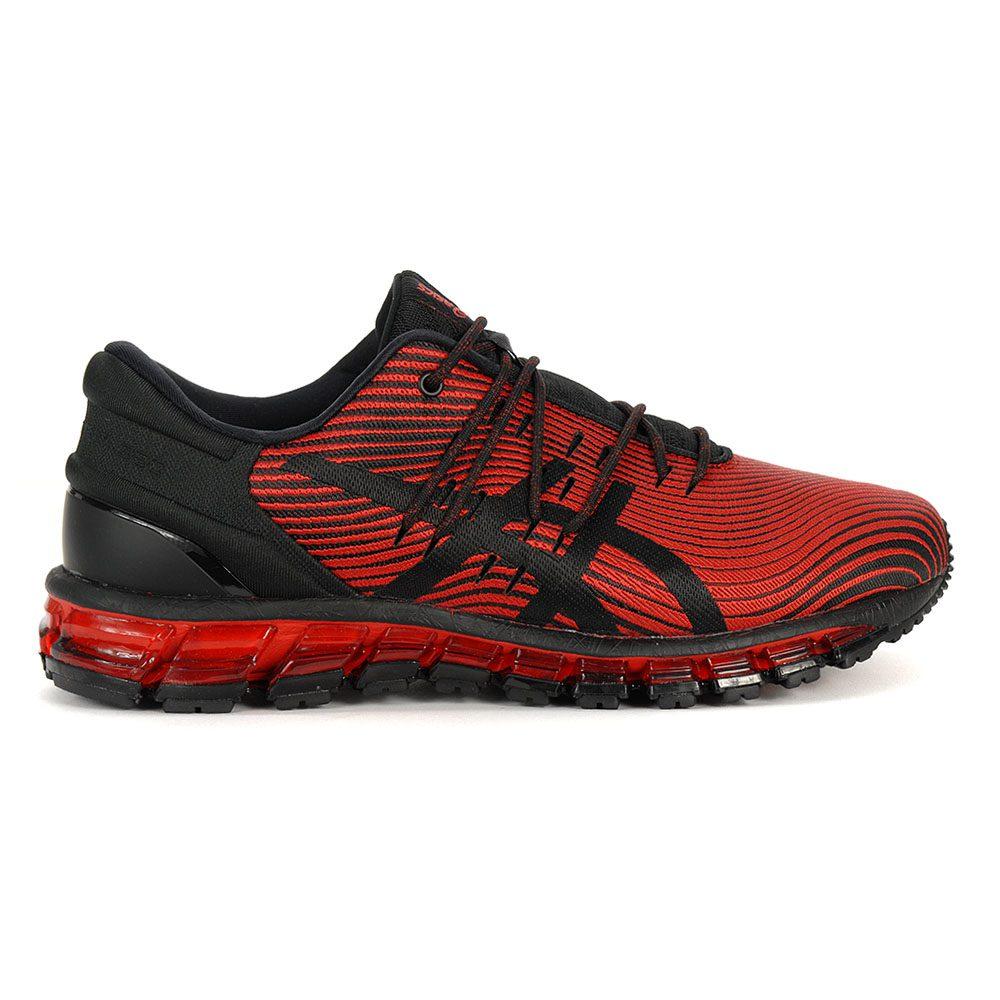 ASICS Men/'s Gel-Quantum 360 4 Red Alert//Black Running Shoes 1021A028.600 NEW!