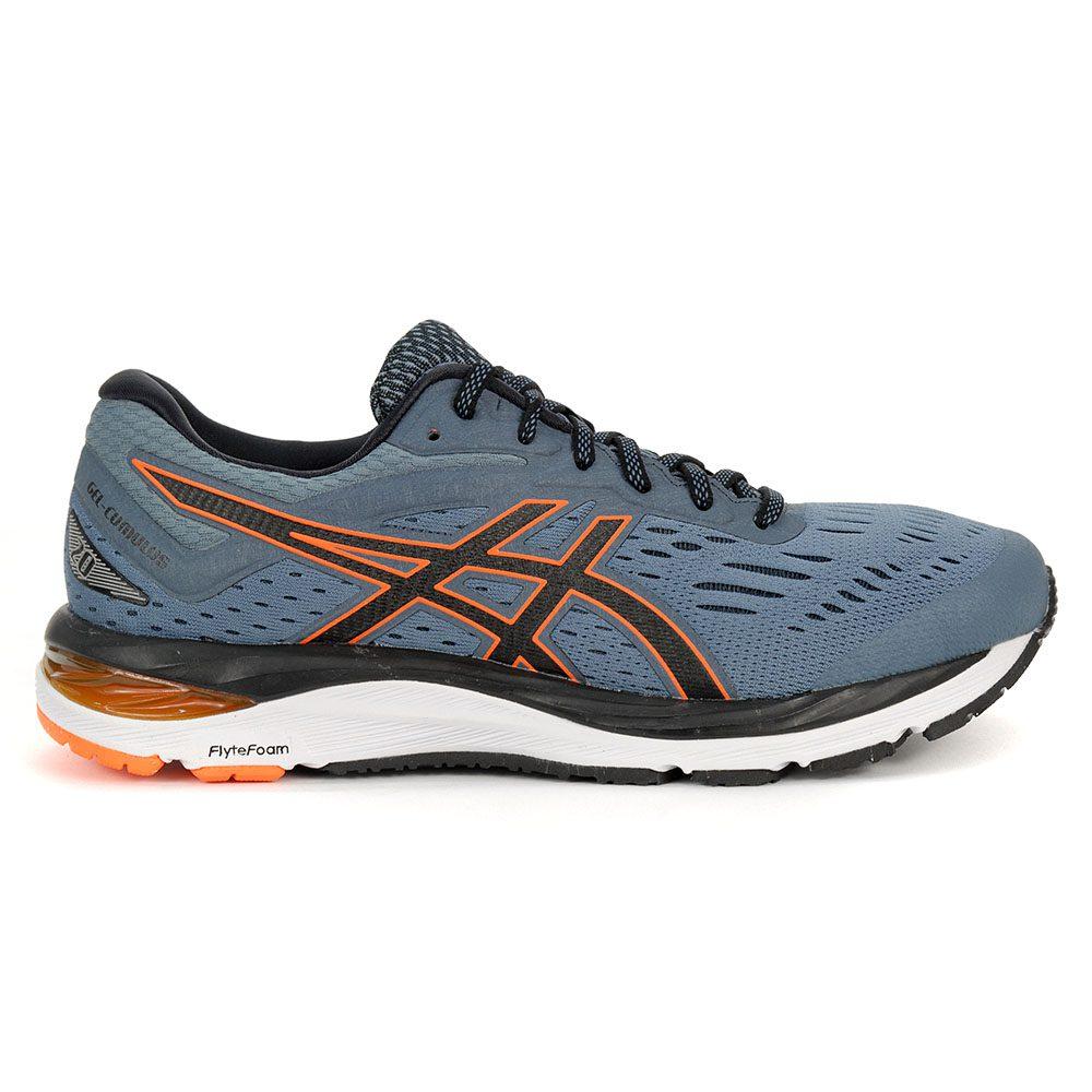 Details zu ASICS Men's GEL Cumulus 20 IroncladBlack Running Shoes 1011A008.021 NEW