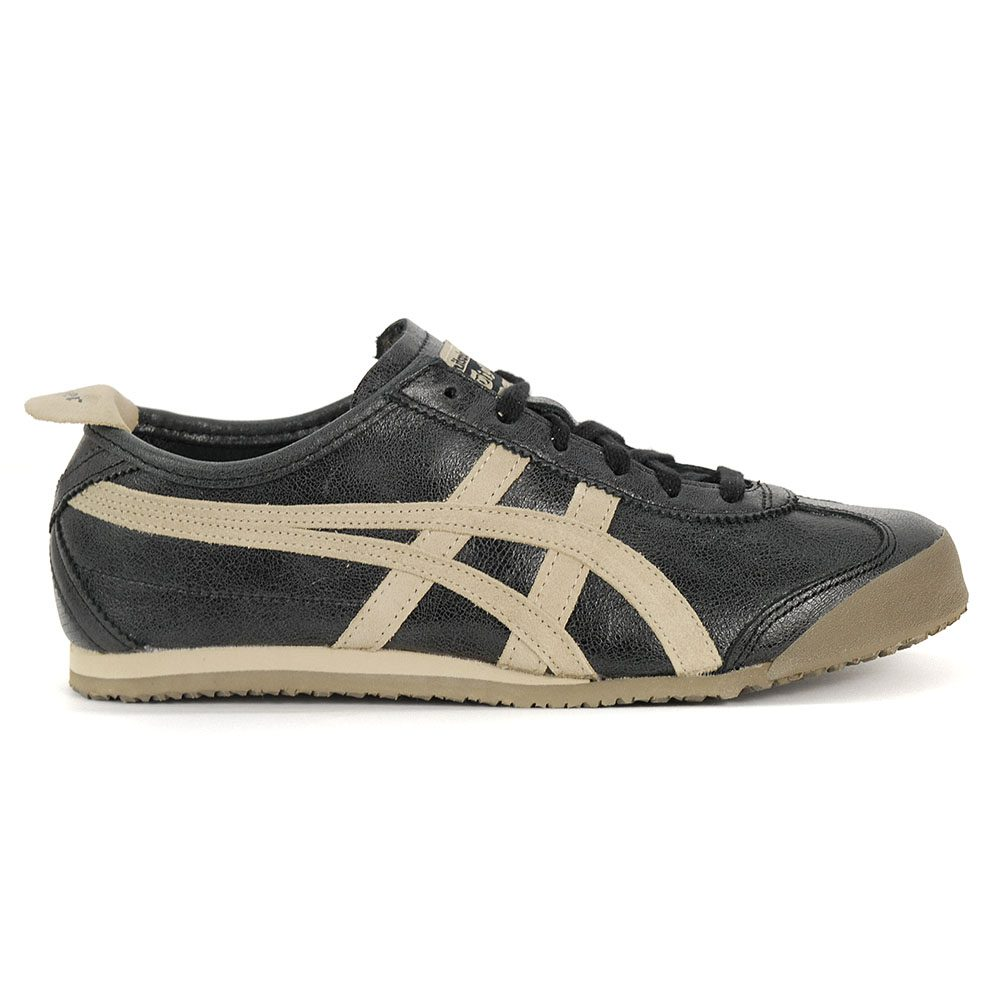 save off 9441f 0959b Details about ASICS Onitsuka Tiger Mexico 66 Deep Black/Feather Grey Shoes  1183A032.001 NEW