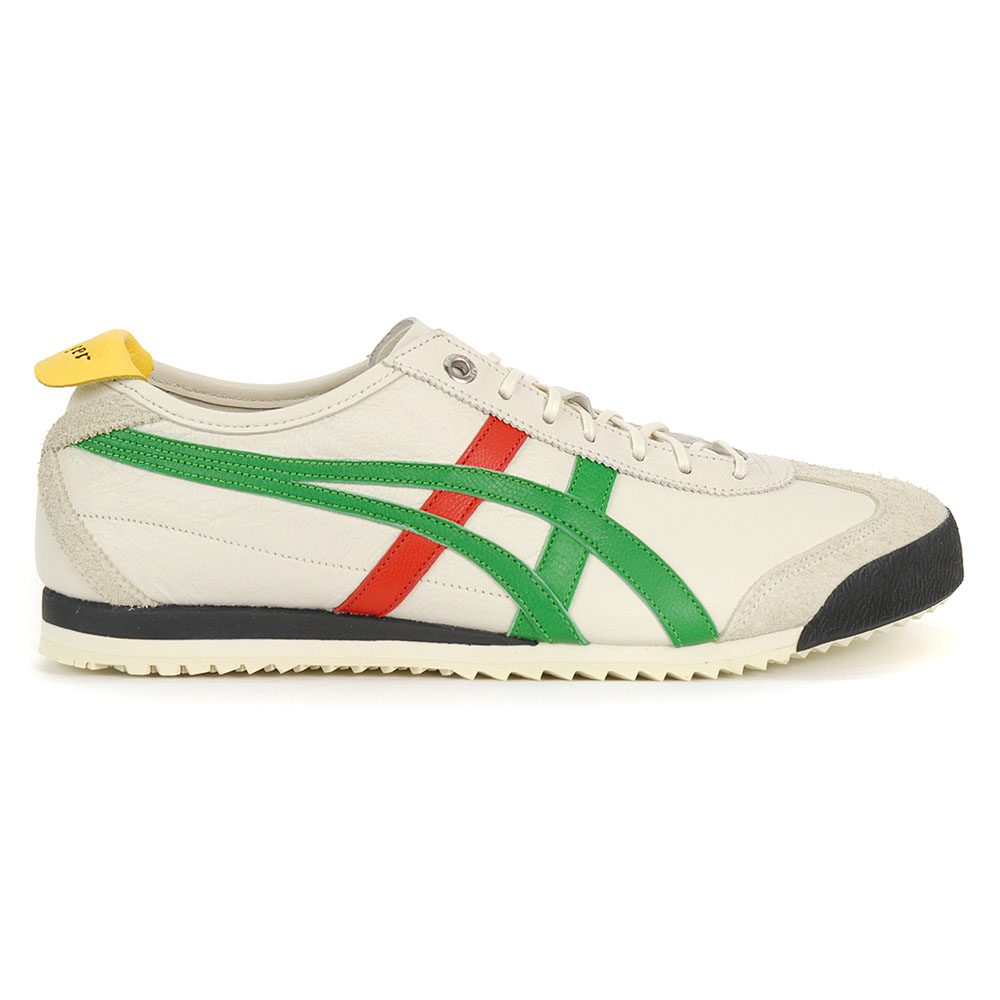 separation shoes 35159 56fa4 Details about ASICS Onitsuka Tiger Mexico 66 SD Cream/Green Grey Shoes  1183A036.100 NEW