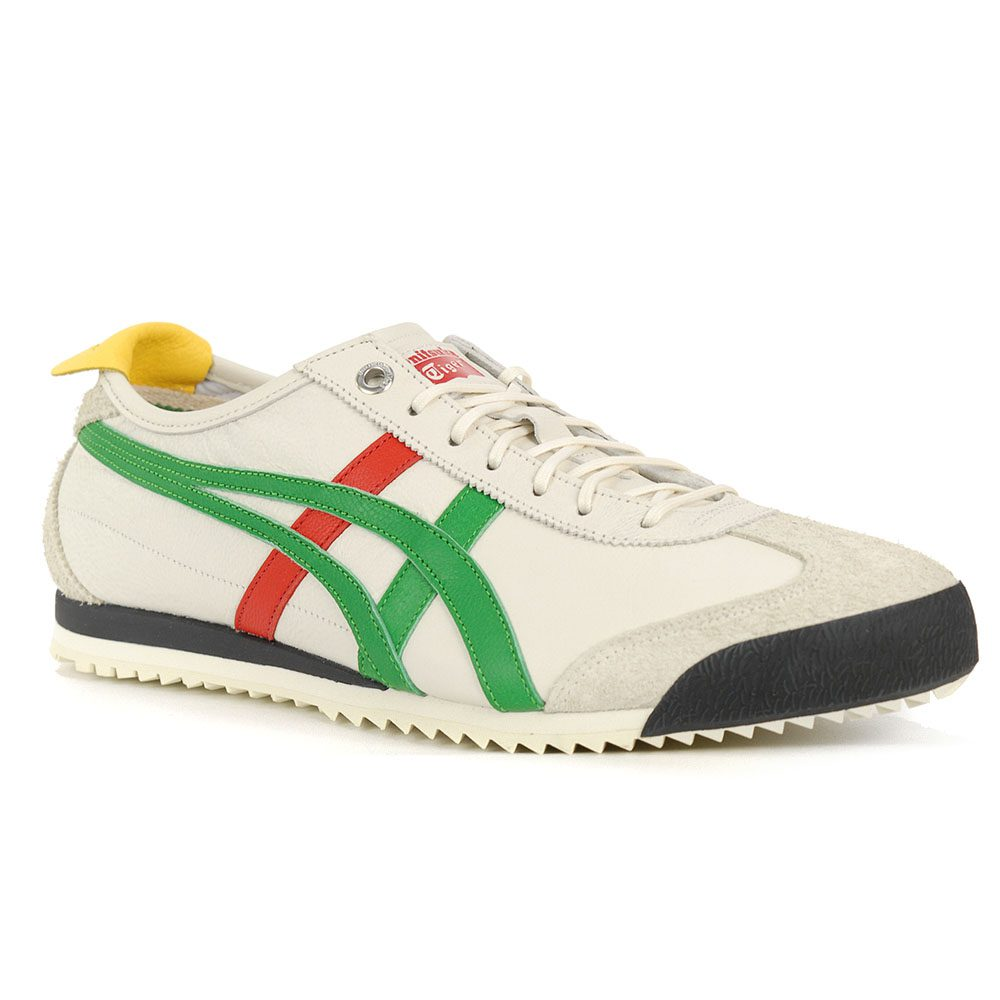 the latest 025cb ca262 ASICS Onitsuka Tiger Mexico 66 SD Cream/Green Grey Shoes 1183A036.100