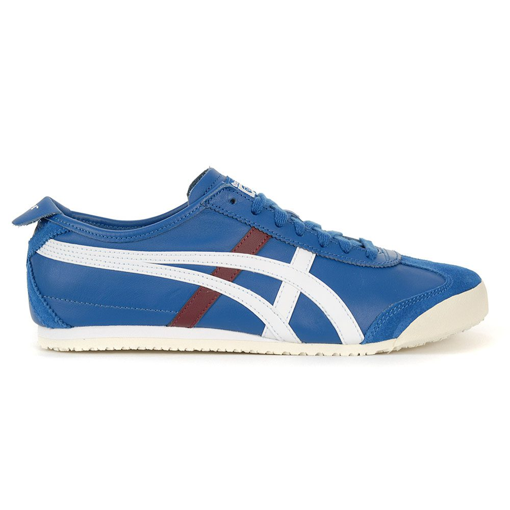 sports shoes 45b07 0529f Details about ASICS Onitsuka Tiger Mexico 66 Deep Sapphire/White Shoes  D4J2L.400 NEW