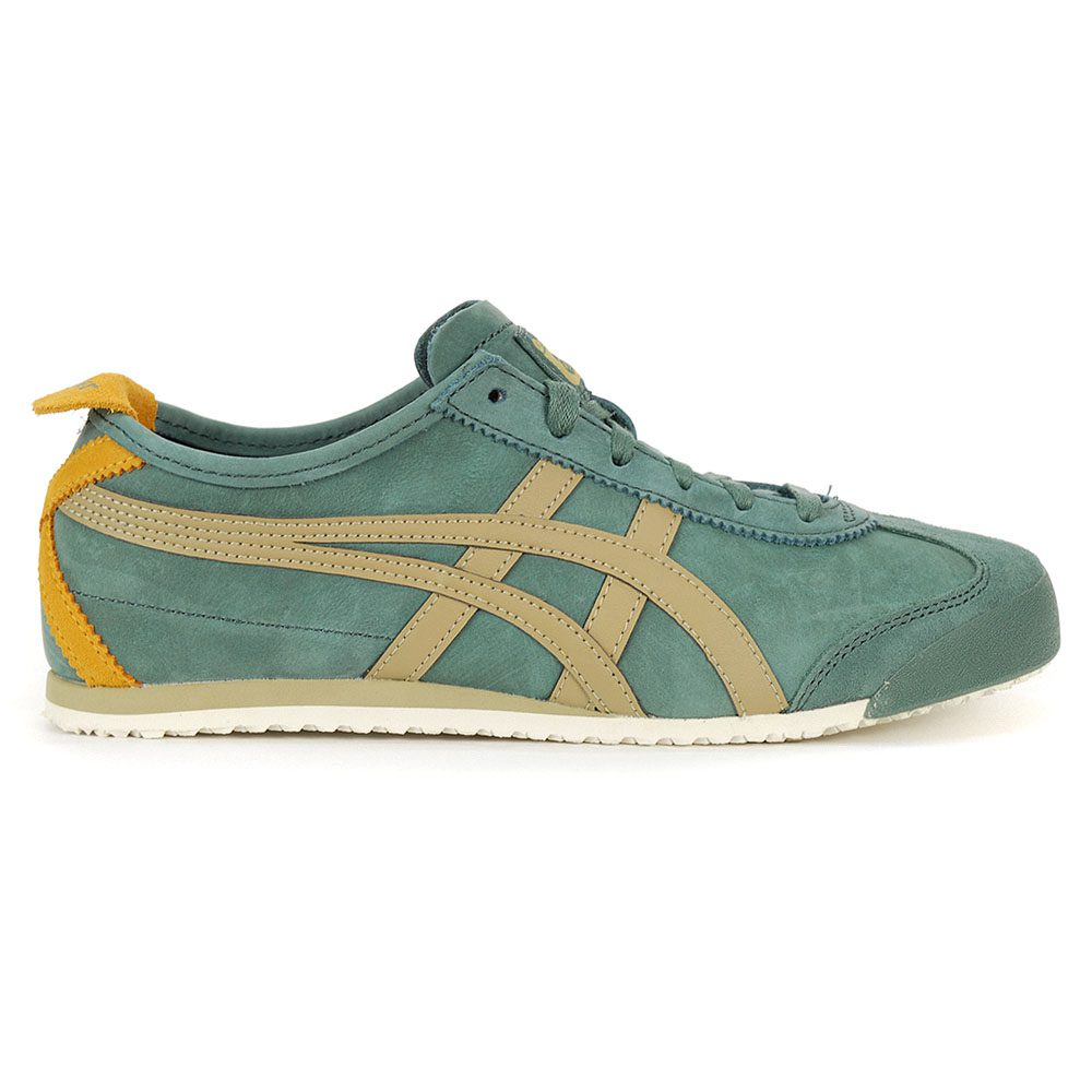 timeless design 39c3b 1ee75 Details about Asics Onitsuka Tiger Mexico 66 Hiking Green/Safari Khaki  Shoes 1183A148.300 NEW