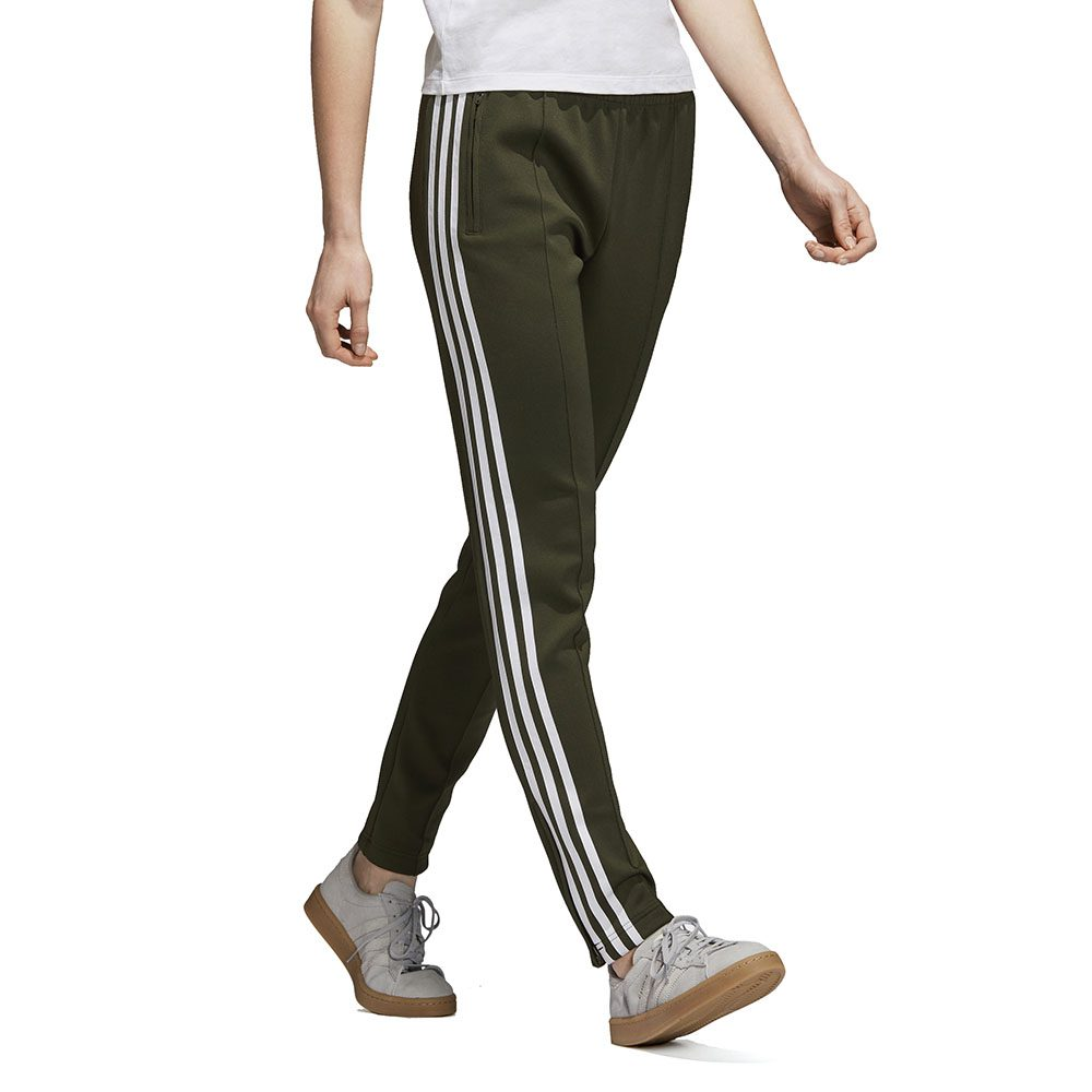Details about Adidas Originals Women's SST Track Pants Night Cargo Green  DH3158 NEW