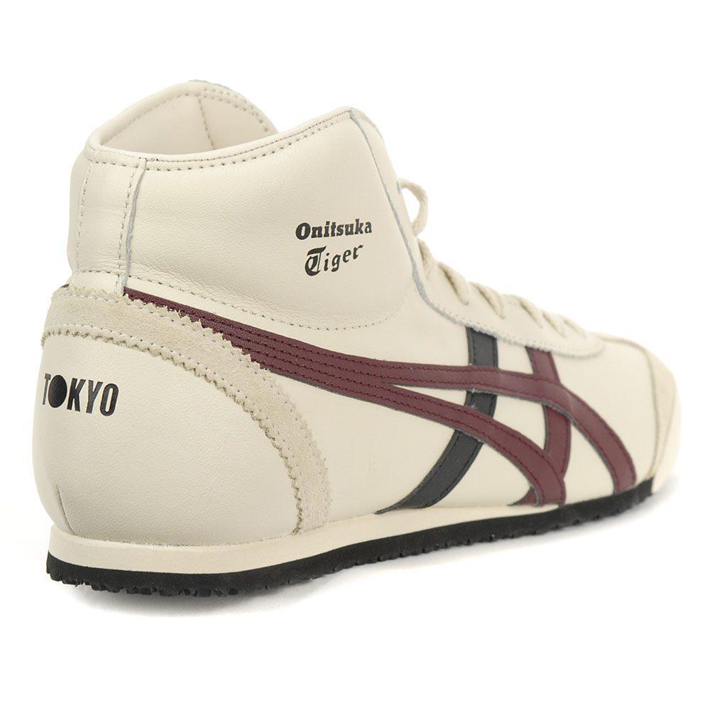 code promo 07d74 9b345 ASICS Onitsuka Tiger Mexico Mid Runner Shoes Oatmeal/Port Royal HL328.250