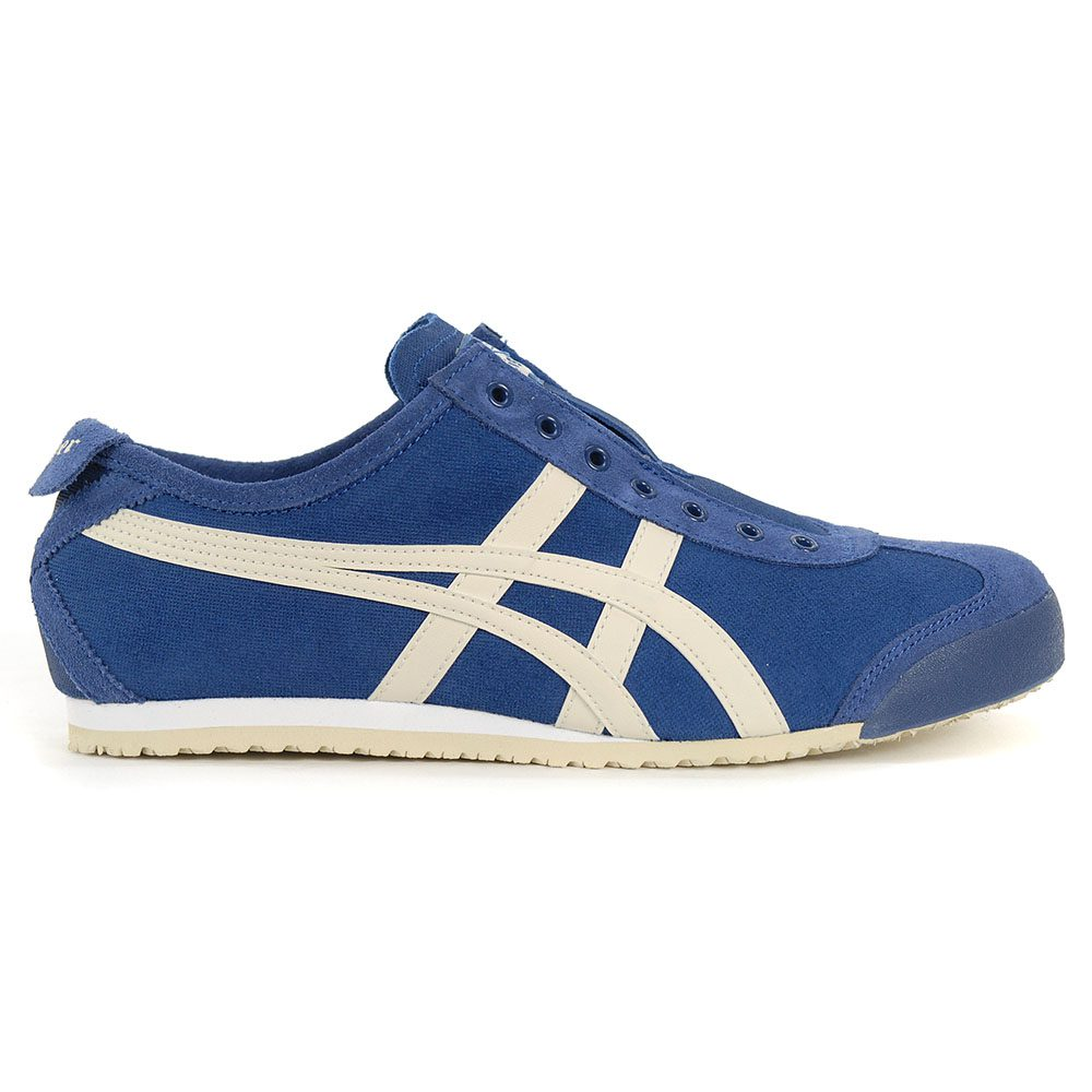 low priced b09d8 7f370 ASICS Onitsuka Tiger Mexico 66 Slip-On Midnight Blue/Oatmeal 1183A042.400