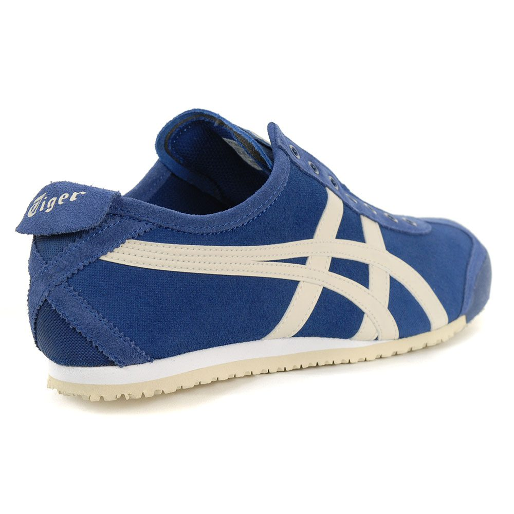 low priced 91d93 fa895 ASICS Onitsuka Tiger Mexico 66 Slip-On Midnight Blue/Oatmeal 1183A042.400