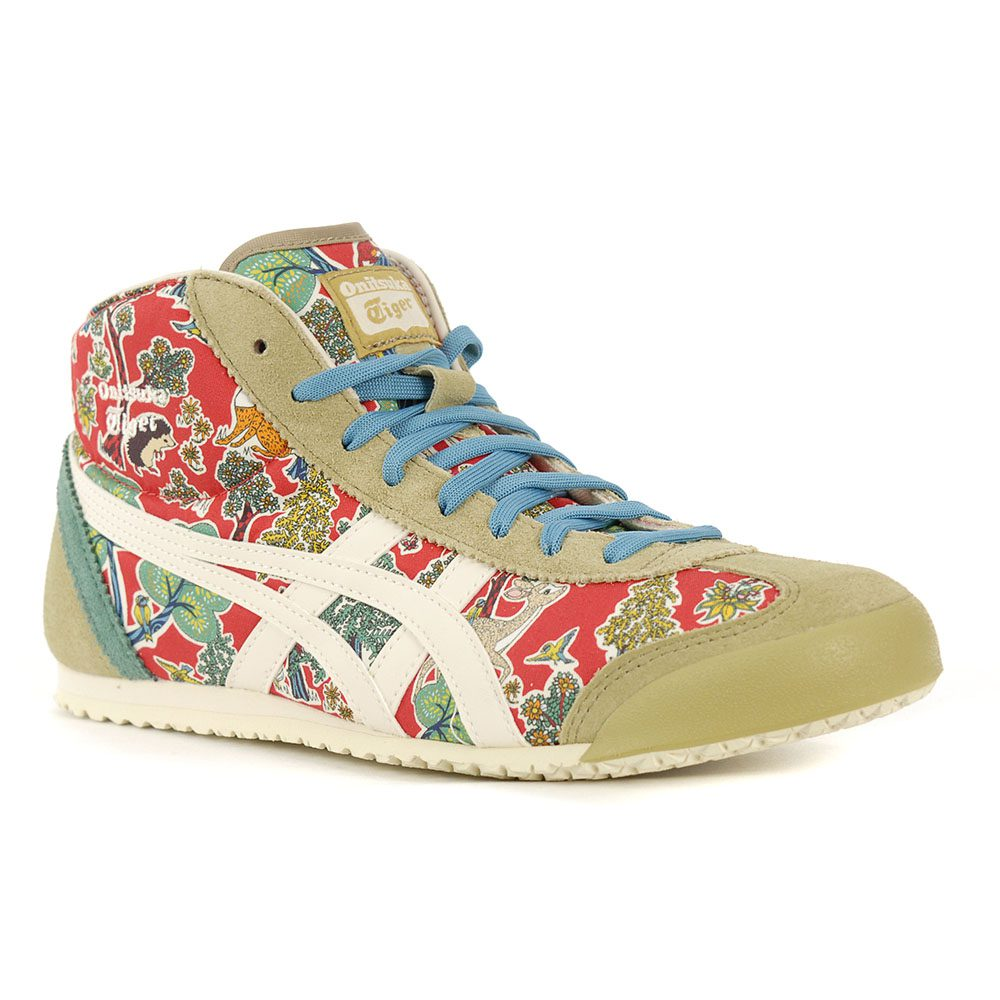 more photos bb617 5d6b3 ASICS Onitsuka Tiger Women's Mexico Mid Runner Red/Oatmeal 1182A015.600