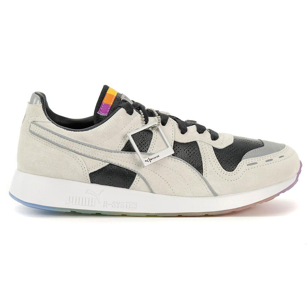 PUMA MEN'S RS 100 X Polaroid Collab Shoes MarshmallowPuma