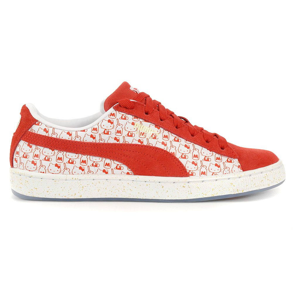 Details about PUMA Suede Classic X Hello Kitty Women's Shoes Bright Red 36630601 NEW!