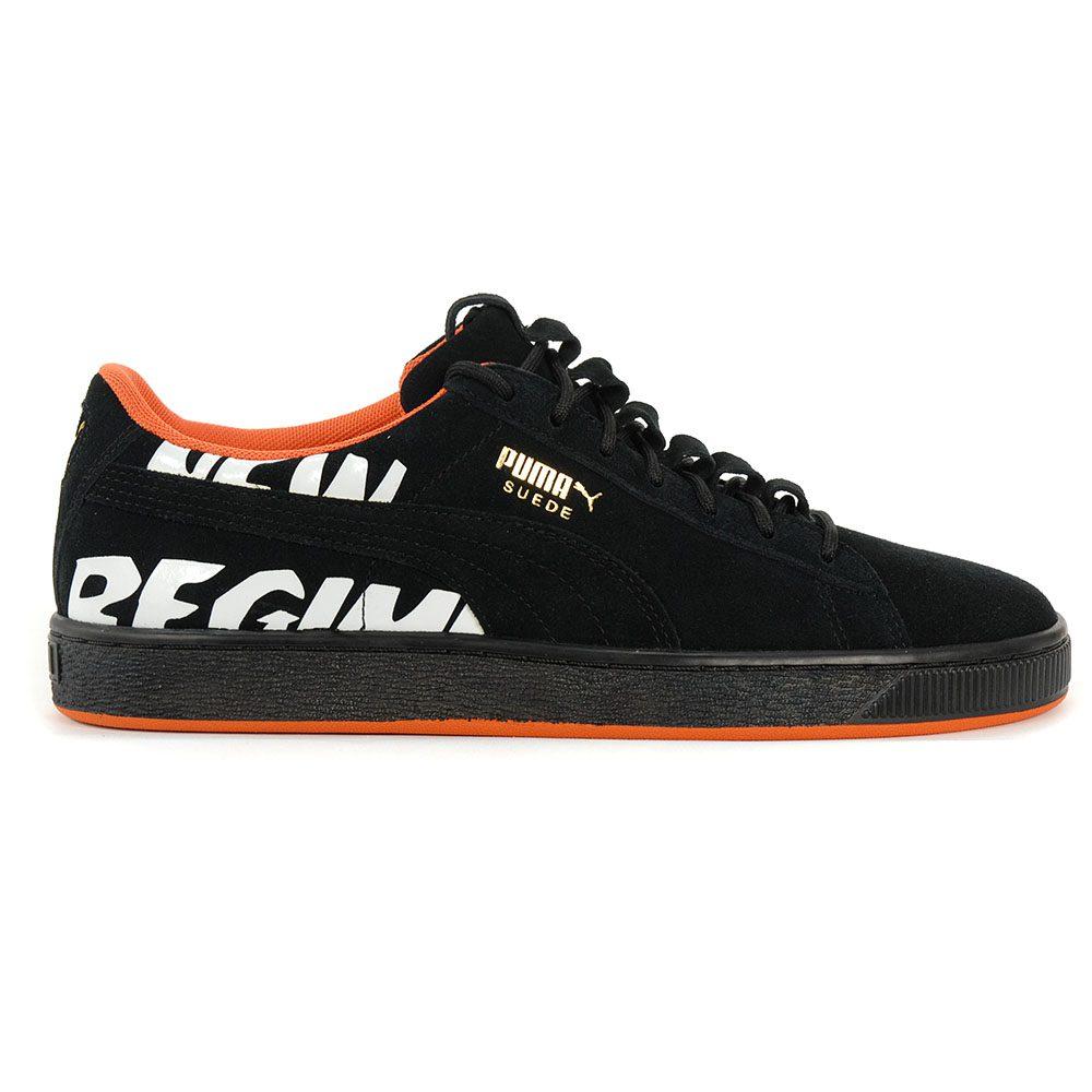 size 40 dac6c 39a70 PUMA Suede Classic X Atelier New Regime ANR Black Shoes 36653402