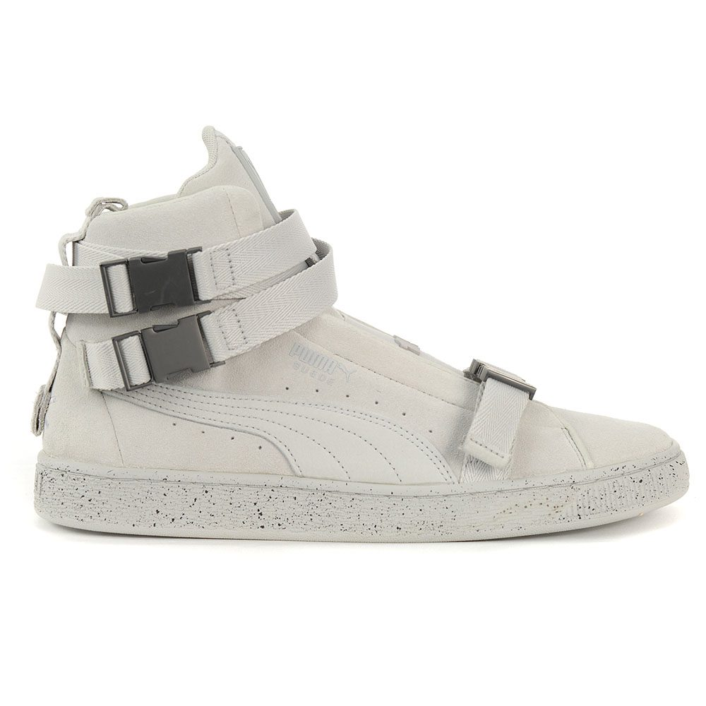 sports shoes b5a8e 43746 Details about PUMA Suede Classic X The Weeknd XO Shoes Glacier Grey  36631002 NEW!