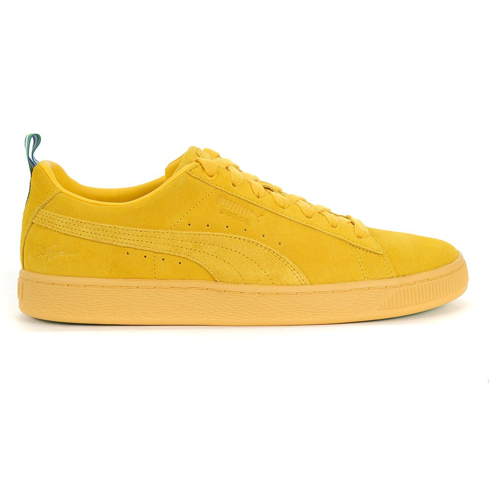 reputable site b08c3 0fab3 Details about PUMA Suede Classic X BIG SEAN Men's Shoes Spectra Yellow  36741301 NEW!