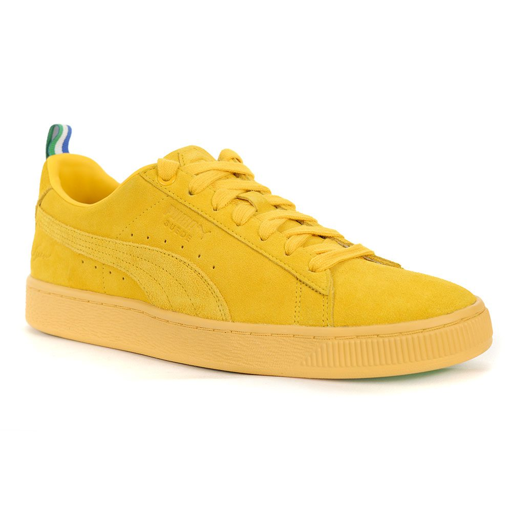 premium selection b5da9 ff093 PUMA Suede Classic X BIG SEAN Men's Shoes Spectra Yellow 36741301