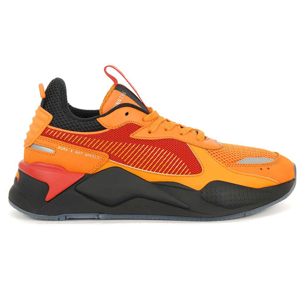 best deals on search for newest factory authentic Details about PUMA Men's RS-X Toys Hot Wheels Camaro Vibrant Orange/Black  Shoes 37040301 NEW!