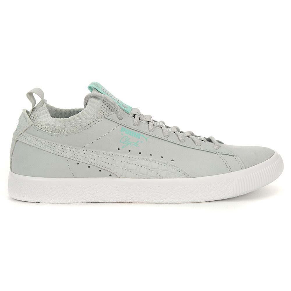 Details about PUMA Men's Clyde Sock Lo Diamond Puma Glacier Grey Shoes 36565302 NEW!
