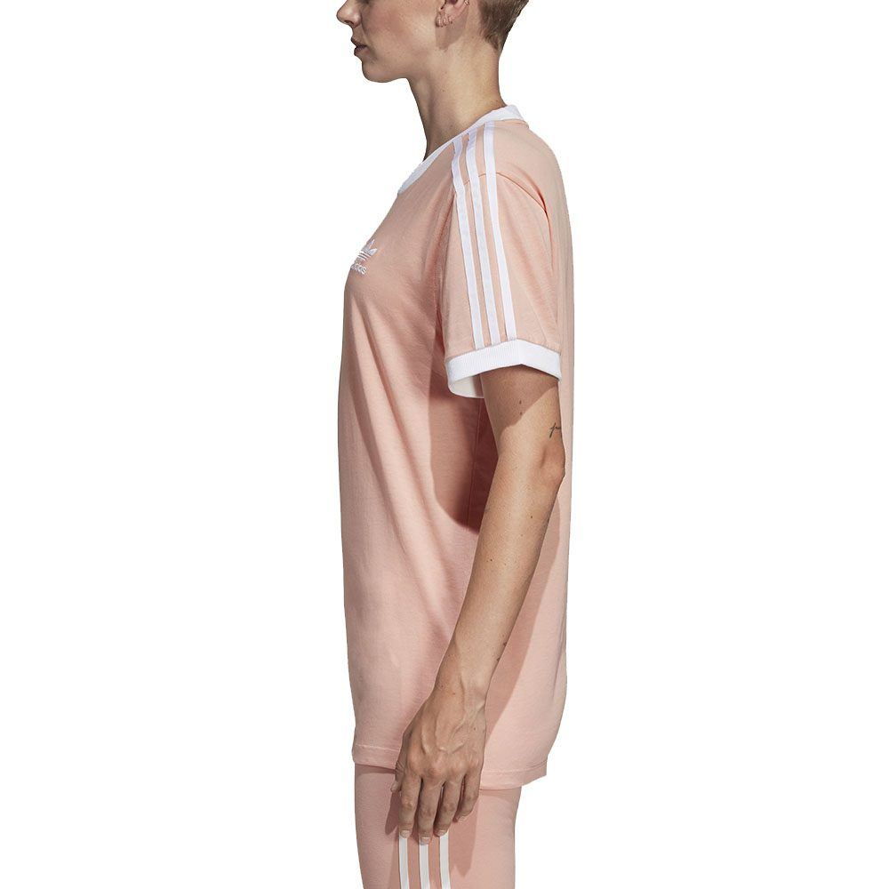 adidas 3 stripes w t-shirt dust pink