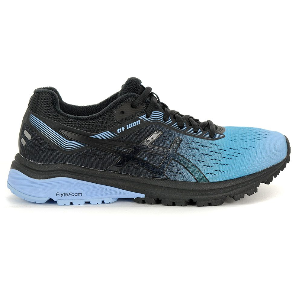 Details about ASICS Women's GT 1000 7 SP Blue BellBlack Running Shoes 1012A120.400 NEW