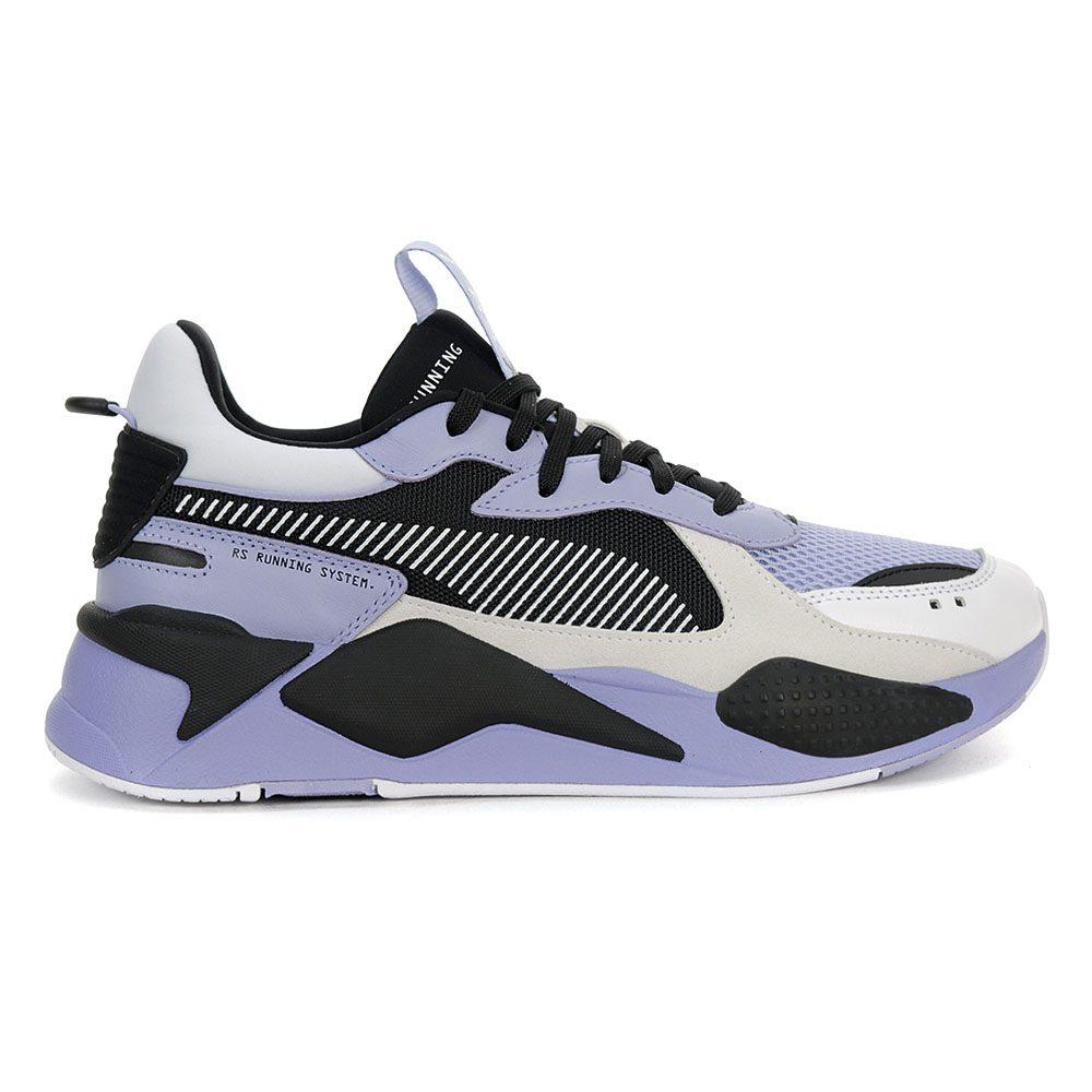 bae83727c4e Details about PUMA Men's RS-X REINVENTION Shoes Black/White/Sweet Lavender  36957904 NEW!
