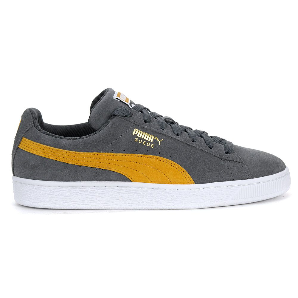 Details about PUMA Men's Suede Classic Shoes Iron GateBuckthorn Brown 36534732 NEW!