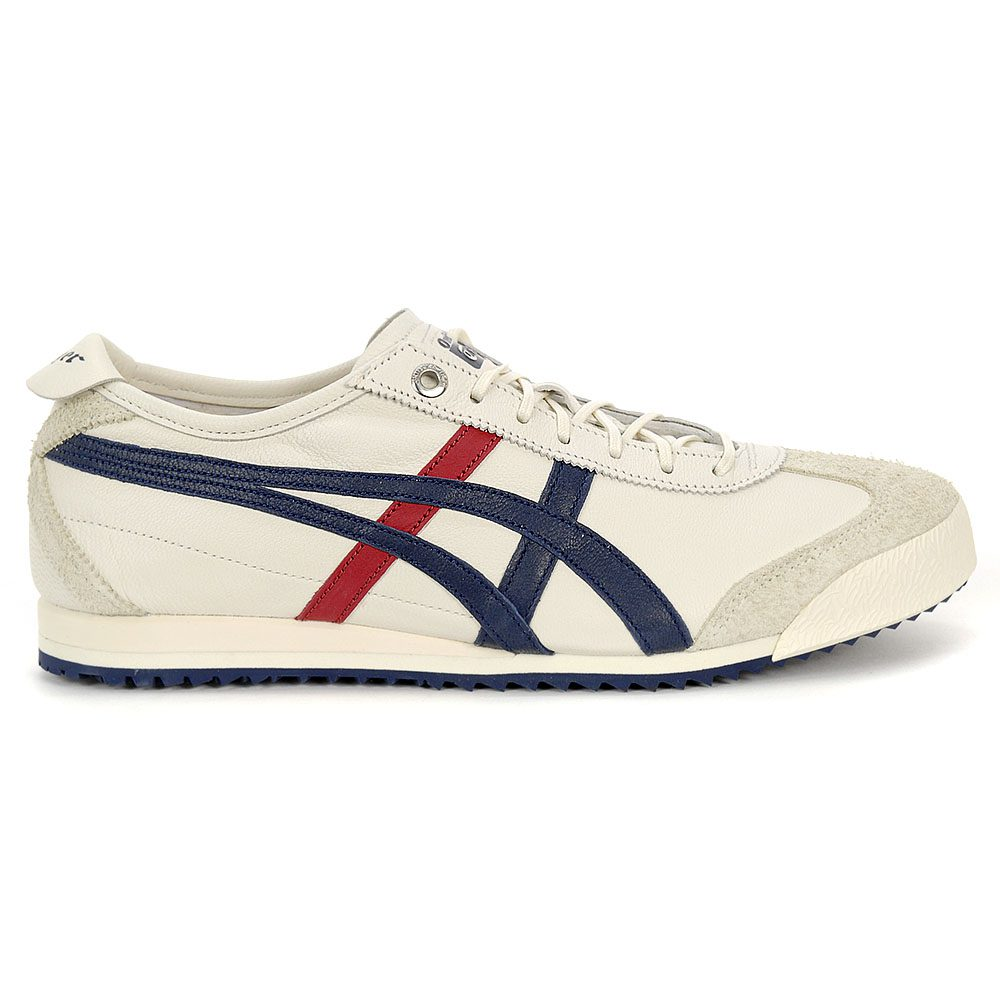 newest bfd8d 0aa58 Details about ASICS Onitsuka Tiger Mexico 66 SD Cream/Peacoat Unisex Shoes  1183A036.101 NEW