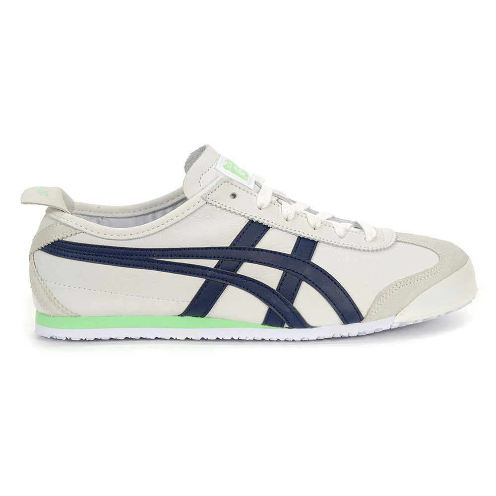 buy online dd316 d0d82 Details about ASICS Onitsuka Tiger Men's Mexico 66 Shoes White/Peacoat  1183A359.101 NEW